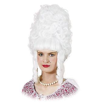 السيدة بومبادور. أبيض.
