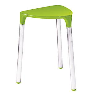 Gedy Yannis Stool Green Chrome 2172 04