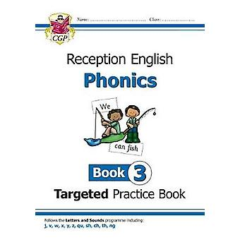 New English Targeted Practice Book - Phonics - Reception Book 3 by New