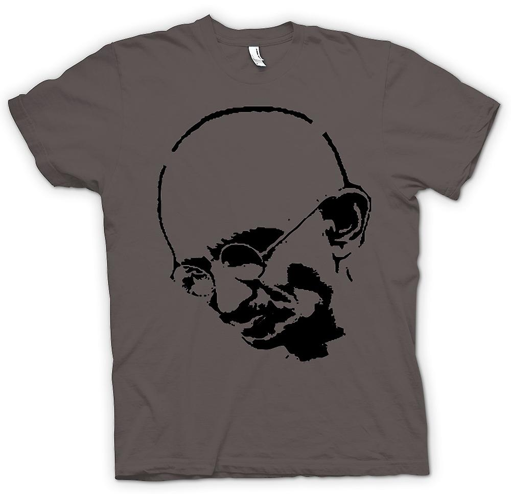 Womens T-shirt - Ghandi - Indian - Hippie - Frieden