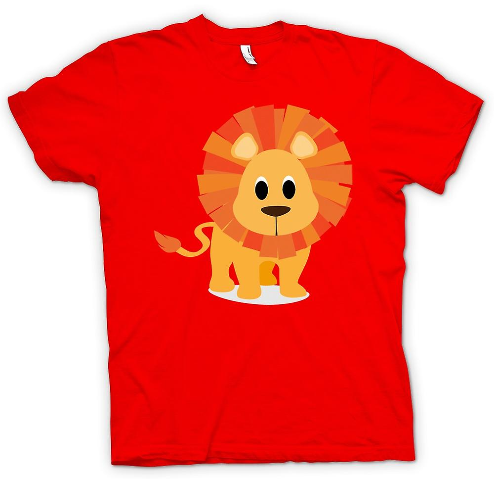 Mens t-shirt - amo Lions - animale sveglio
