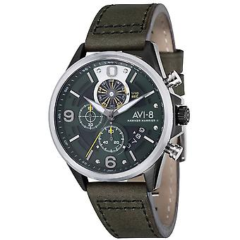 AVI-8 Hawker Harrier ll Watch - Green/Dark Green