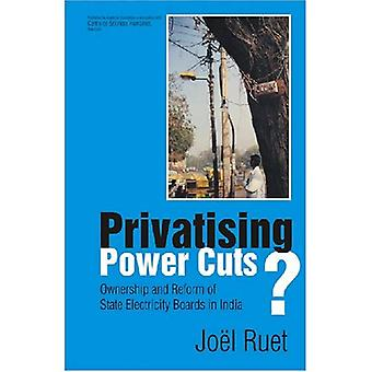 Privatising Power Cuts?: Ownership and Reform of State Electricity Boards in India