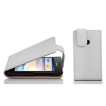 Cadorabo Hülle für Huawei ASCEND G330 Flip Case Cover