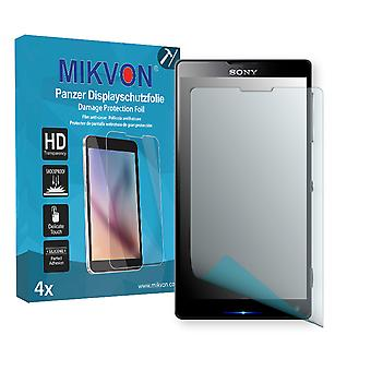 Sony Xperia L35h Screen Protector - Mikvon Armor Screen Protector (Retail Package with accessories)