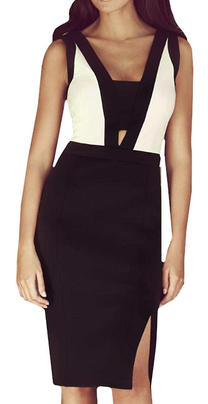 Waooh - Midi Dress with slit neckline band Cune