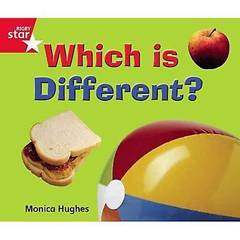 Som är annorlunda?: Red Level (Rigby stjärnigt guidade)