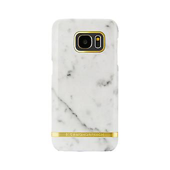 Richmond & Finch covers for Samsung Galaxy S7 Edge-White Marble