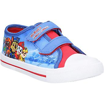 Leomil Boys Paw Patrol Low Lightweight Casual Plimsoll Shoes