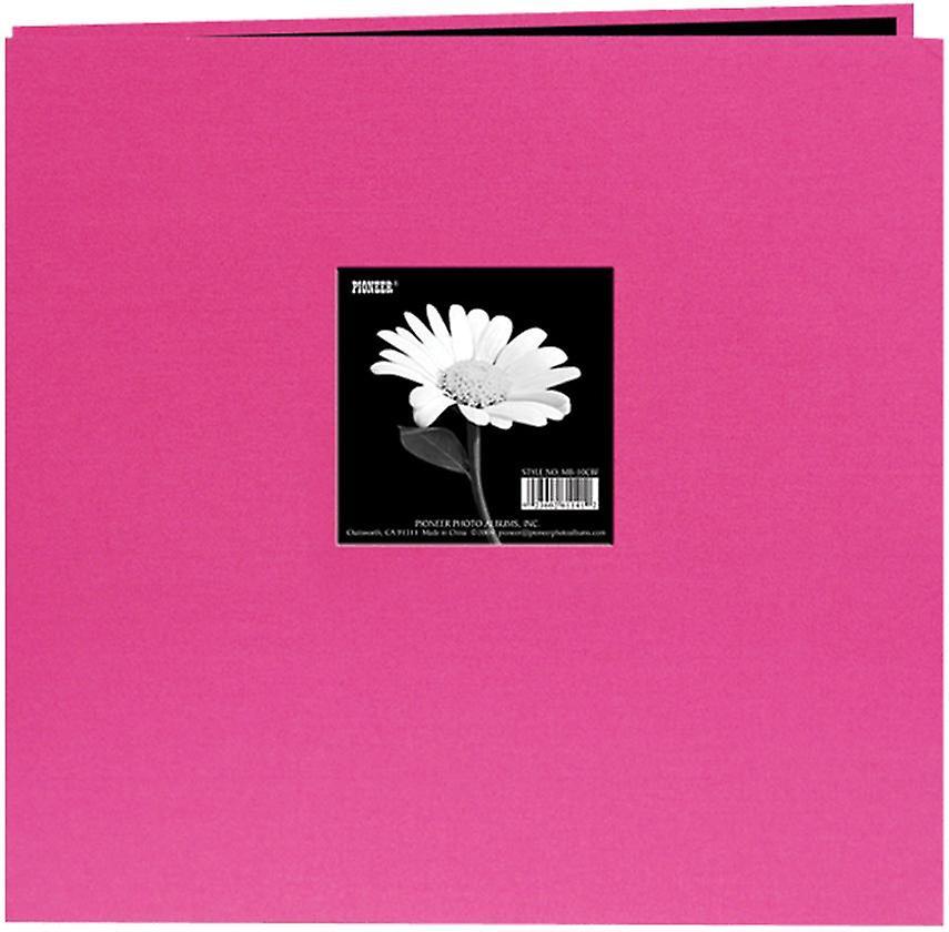 Pioneer livre tissu couverture de l'Album Post lié 12 & 034;X 12 -rose vif