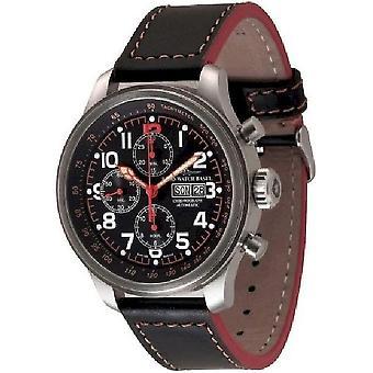 Zeno-watch mens watch OS pilot Chrono-date 8557TVDD-7-a15