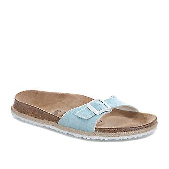Womens Papillio Madrid Sandals – Narrow Width In Beach Light Blue