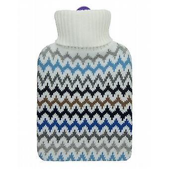 Aroma Home Fragranced 2L Hot Water Bottle: Chevron