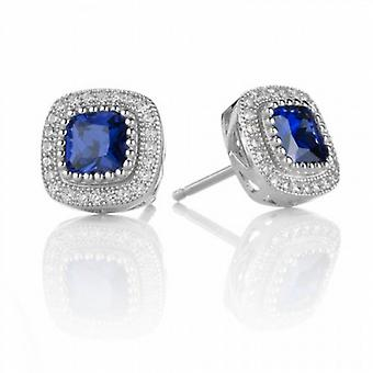 Cavendish French Sapphire Blue Beauty Earrings