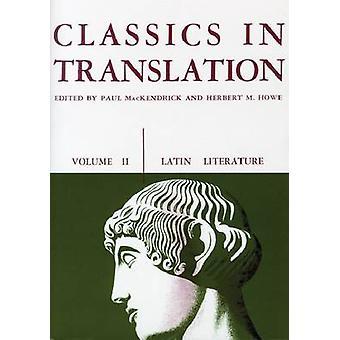 Classics in Translation by Paul L. MacKendrick - Herbert M. Howe - 97