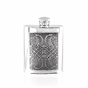 4oz Celtic Knot Flask Pewter - Cel151