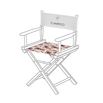 Gardenista® Flamingo Design Replacement Directors Chair Canvas Cover