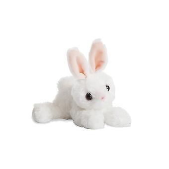 Aurora World mini Flopsie Bunny plysch leksak (vit)
