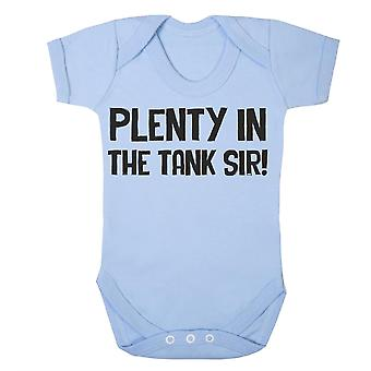 Plenty in the tank, sir babygrow