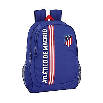Safta Atl tico De Madrid Casual Backpack - 44 cm - Blue (Azul)