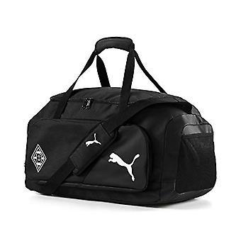 PUMA BMG Liga Medium Bag - Borsone Unisex Adulto - Black White - UA