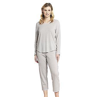 Rosch 1193700-16416 Women's Pure Off-White Oriental Flair Cotton Pyjama Pant