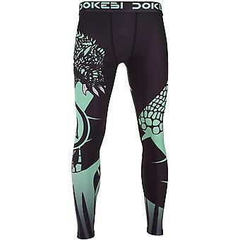Dokebi Jungle MMA Grappling Spats - Green