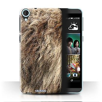 STUFF4 Case/Cover for HTC Desire 820q Dual/Wolf/Animal Fur Pattern