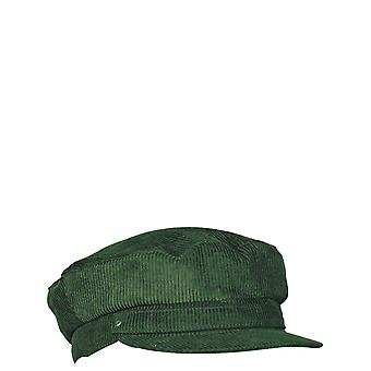 Mens Cord Barge Cap