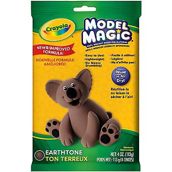 Crayola Model Magic 4 Ounces Earth Tone 57 4459