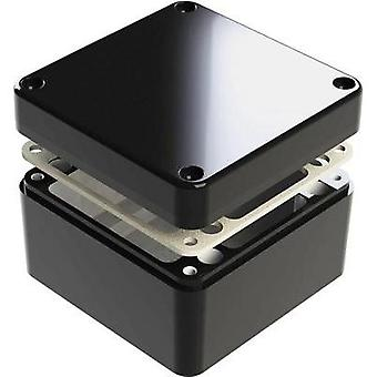 Universal casing 125 x 125 x 90 Aluminium Black Deltron Enclosures 1 pc(s)