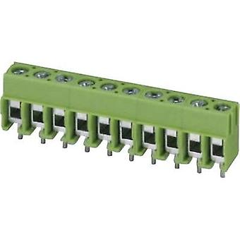 Screw terminal 2.50 mm² Number of pins 6 PT 1,5/ 6-5,0-H Phoenix Contact Green 1 pc(s)