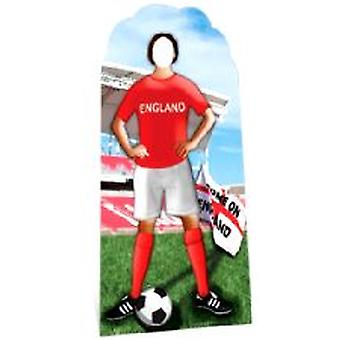 England Footballer Lifesize Cardboard Stand-In