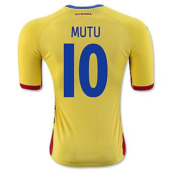 2016-17 Romania Home Shirt (Mutu 10)