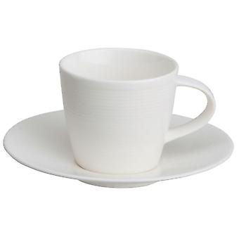 Avet Coffee Tea With 190 Ml Plate Set of 6