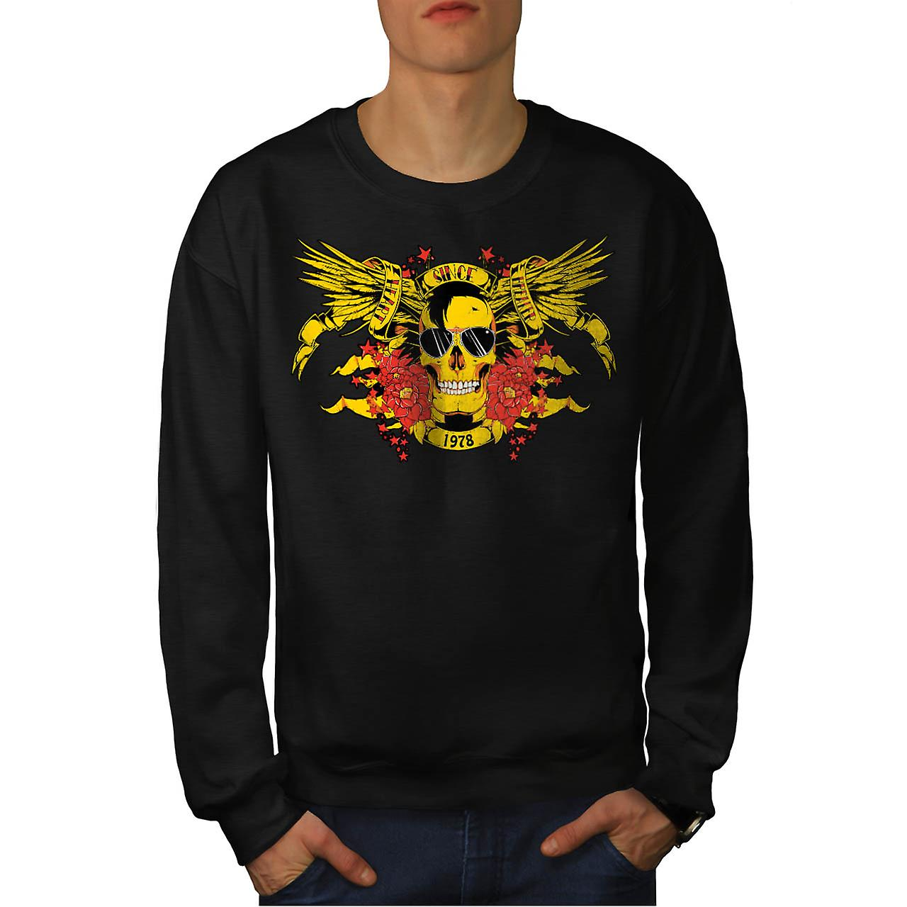 Heart Soul Breaker Heartbroken Men Black Sweatshirt | Wellcoda