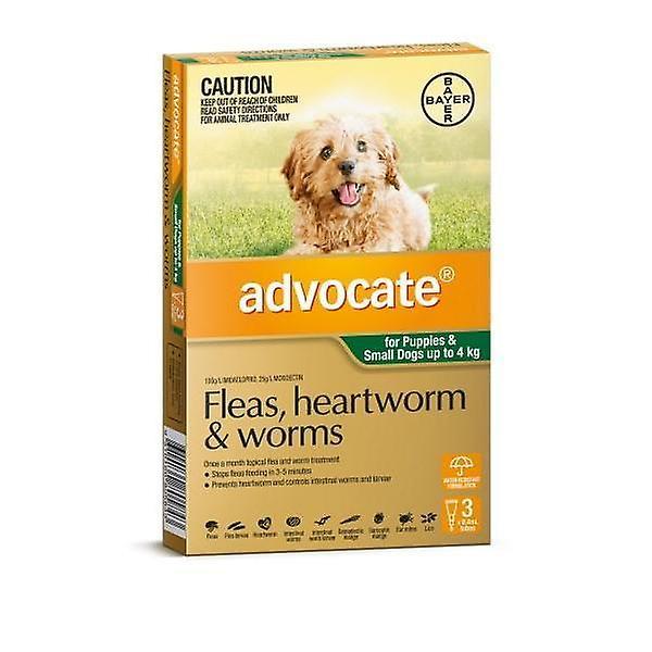 Advocaat 3 Pack kleine honden onder 4kg