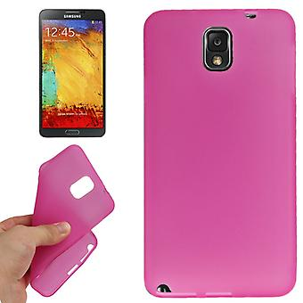 TPU case cover for Samsung Galaxy pink note 3 / N9000