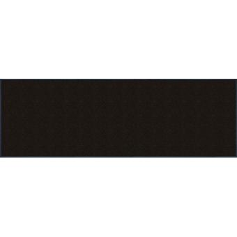 Wash & dry washable Raven Black 60 x 180 cm 006169 doormat