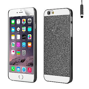 Glitter case cover for Apple iPhone 6 Plus (5.5 inch) - Black