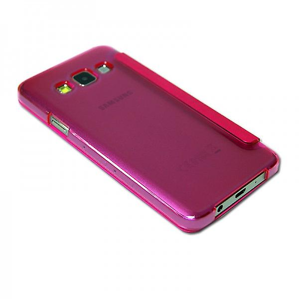 Smart cover window Pink for Samsung Galaxy A5 A500 A500F