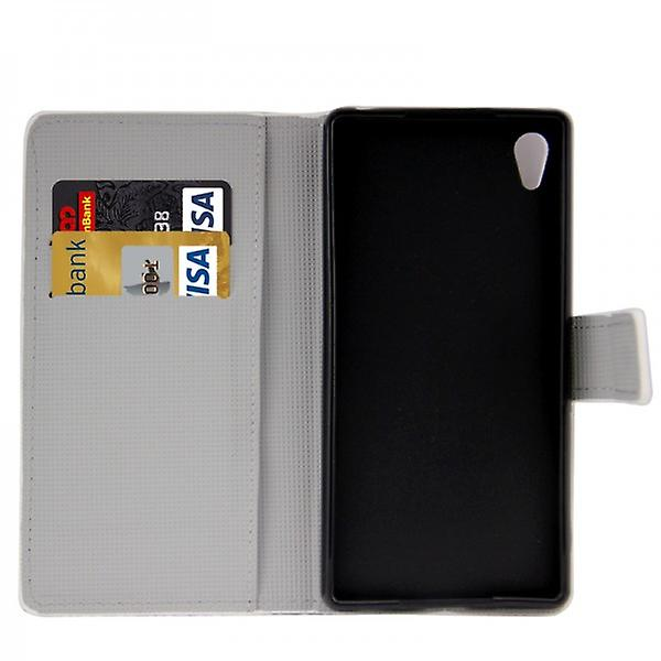 Pocket wallet Premium design 10 for Sony Xperia Z3 plus