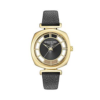 Kenneth Cole New York Damen Uhr Armbanduhr Leder KC15108004