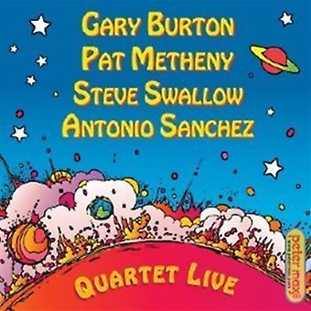 Burton/Metheny/sluge/Sanchez - kvartetten Live! [CD] USA import