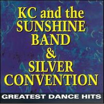K.C. & the Sunshine Band/Silve - Greatest Dance Hits [CD] USA import