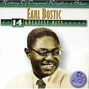 Earl Bostic - 14 Greatest Hits [CD] USA import
