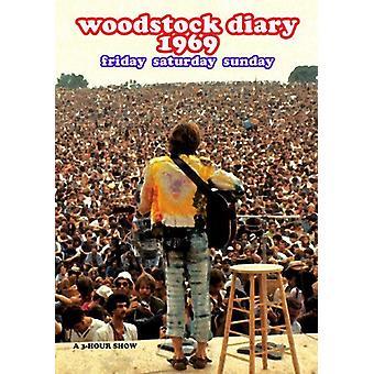 Woodstock Festival: Dagbog 1969 [DVD] USA importerer