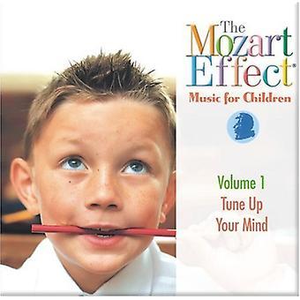 Mozart effekt-musik for børn - Mozart effekten-musik for børn: Vol. 1-Tune op dit sind [CD] USA import