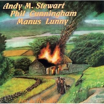 Stewart/Cunningham/Lunny - Fire in the Glen [CD] USA import