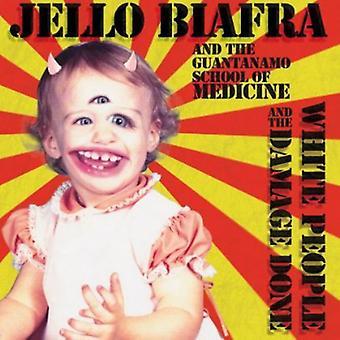 Jello Biafra & Guantanamo School Medicine - hvide mennesker & skaderne [CD] USA importerer